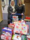 Gift donations for local families